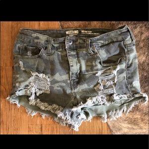 Mossimo Supply Camo shorts